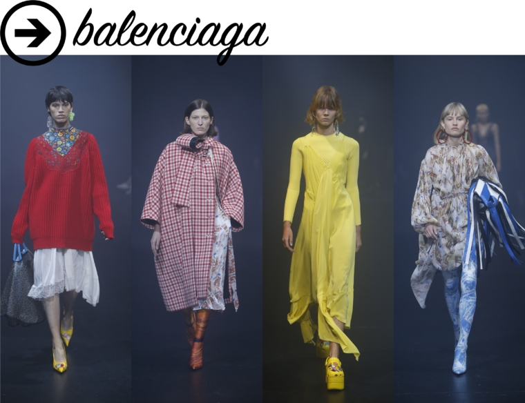 balenciaga paris fashion week ss2018 ss18 pfw show review