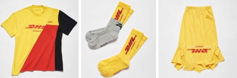 vetements x dhl collection