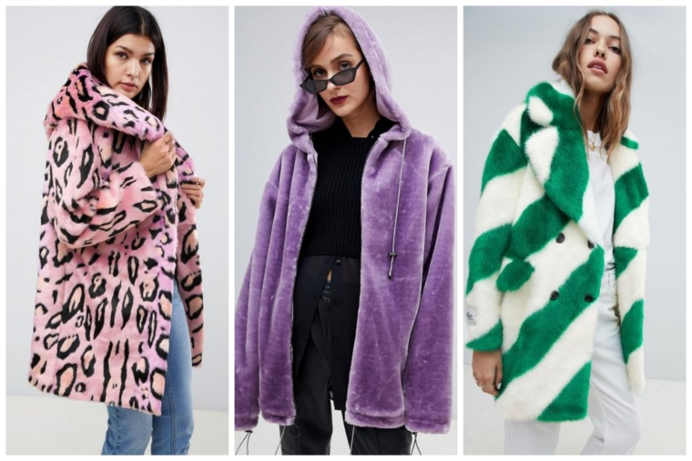 winter trend 2018 2019 kunstpelz kunstfell fake fur faux