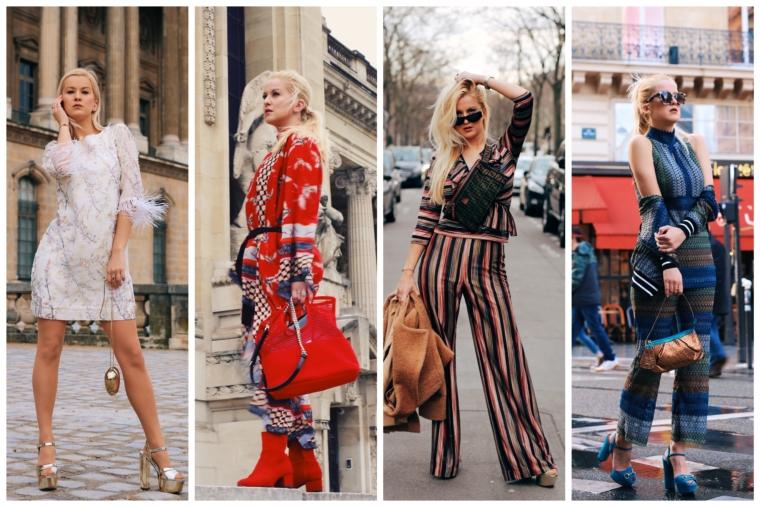 ana alcazar Arise your Senses paris fashion week looks streetstyle 2018