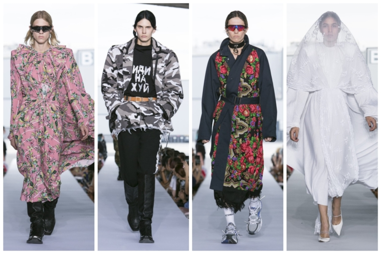 vetements spring summer 2019 show paris fashion week highlights