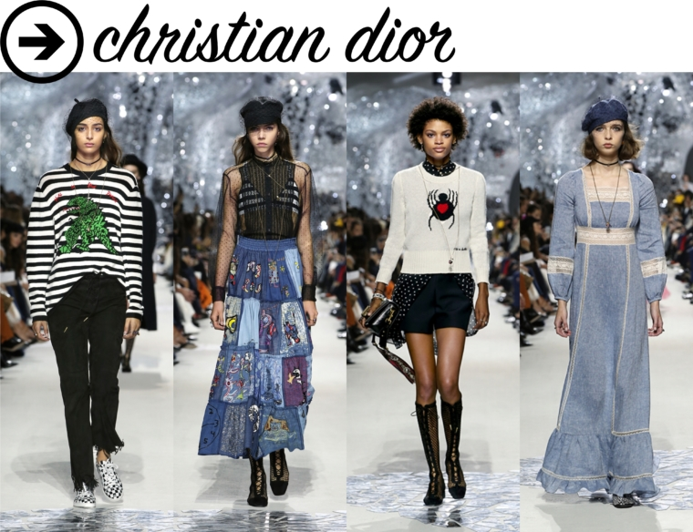 christian dior paris fashion week horror review
