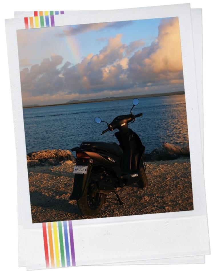 Scooters Bonaire