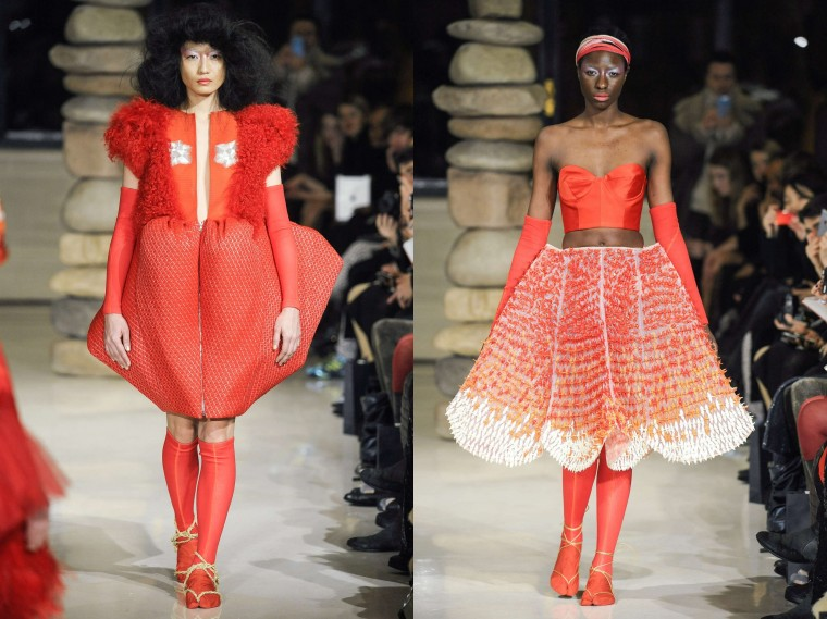 bowie wong  paris haute couture spring ss 2015 fashion week