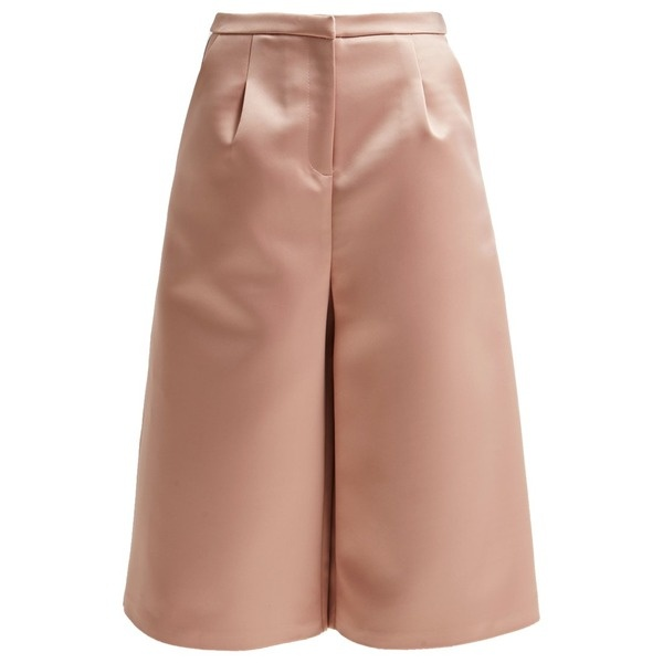 Topshop CULOTTE Shorts light pink nude
